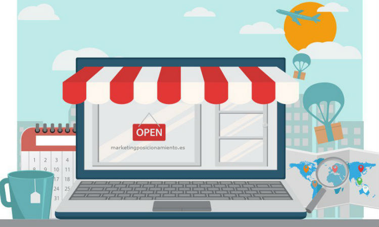 Tiendas online Marketing y posicionamiento Web